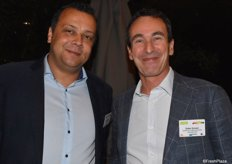 Andreas Blum (itc Promotion) und Didier Groven (Enzafruit Neuseeland)