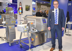 Thorsten Hess der internationalen Maschinenbau-Firma Mettler Toledo Inc.