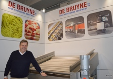Koen Debruyne von De Bruyne Food Processing Equipment NV.
