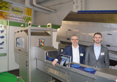 Theo und Georges Sweere von Sweere Food Processing Equipment.